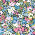 Tissu Liberty - Thorpe Light Rose x10cm