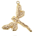 Pavé Pendant Swarovski 67523 30 mm Crystal Golden Shadow doré
