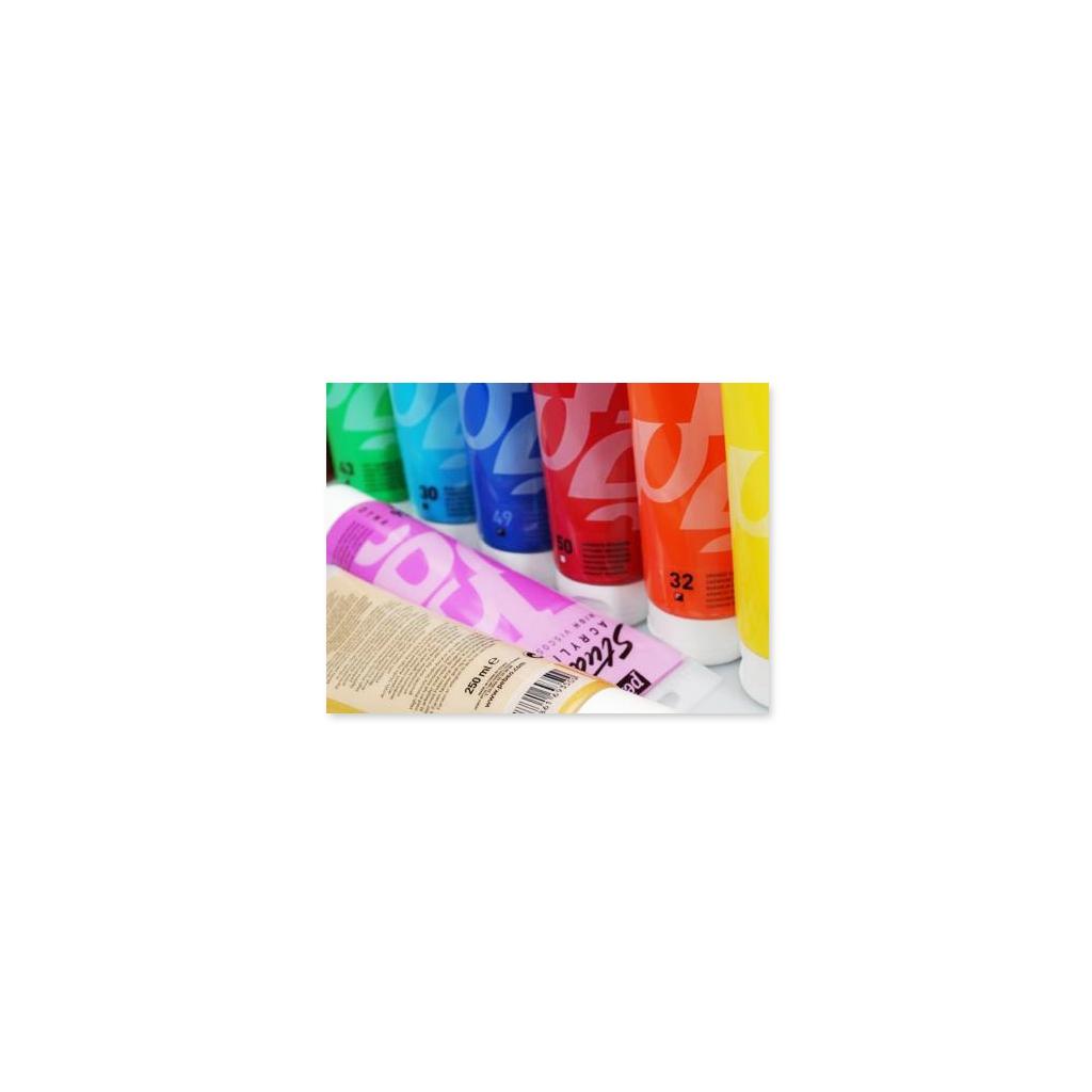 Peinture acrylique p b o studio rose fluo x 100ml p b o - Peinture murale rose fluo ...