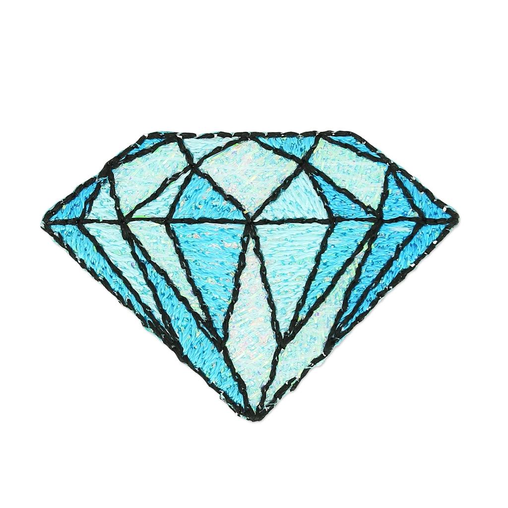 mm 30 Thermocollant Diamant Bleu Ecusson x1 qxwRCtYS