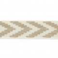 Galon fantaisie chevrons 10 mm Beige x1m