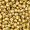Facettes 2 mm véritable (True 2) 24 K Gold Plated x50