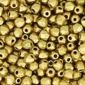 Facettes 2 mm véritable (True 2) Gold Mat x50
