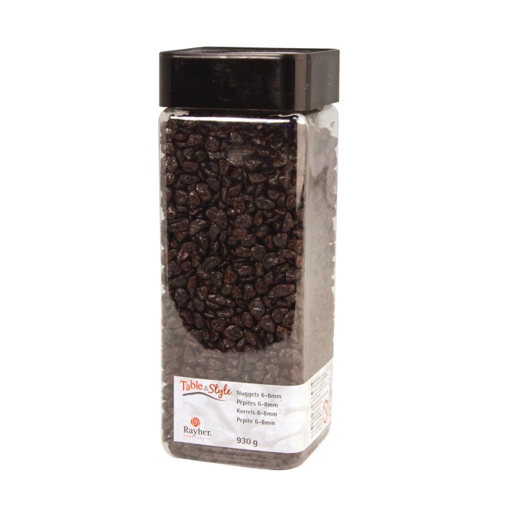 gravier de d coration brun x900g perles co. Black Bedroom Furniture Sets. Home Design Ideas