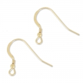 Crochets d'oreilles 19 mm en Gold filled 14 carats  x2
