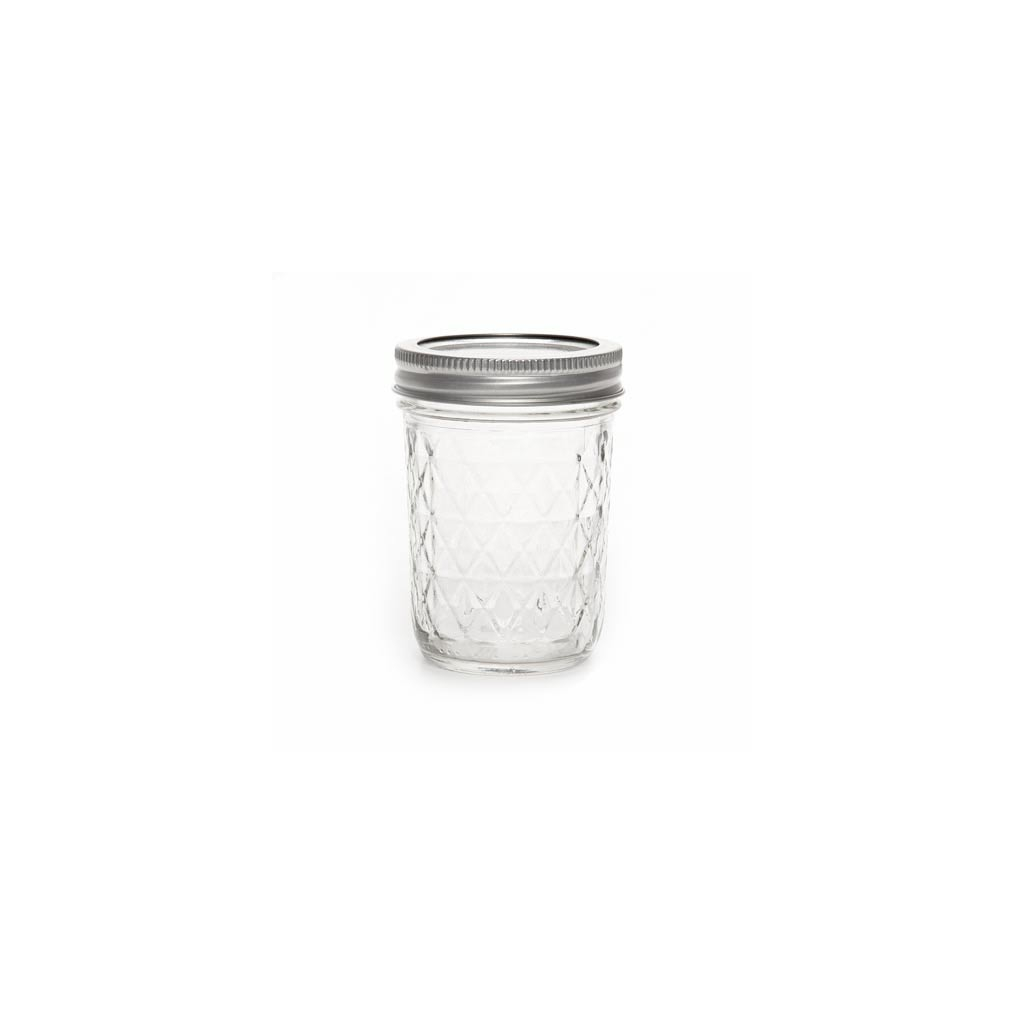 bocal en verre mason jar ball pot mason 8 oz 240 ml motif diamant perles co. Black Bedroom Furniture Sets. Home Design Ideas