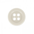 Bouton rond 4 trous 14 mm Beige x1