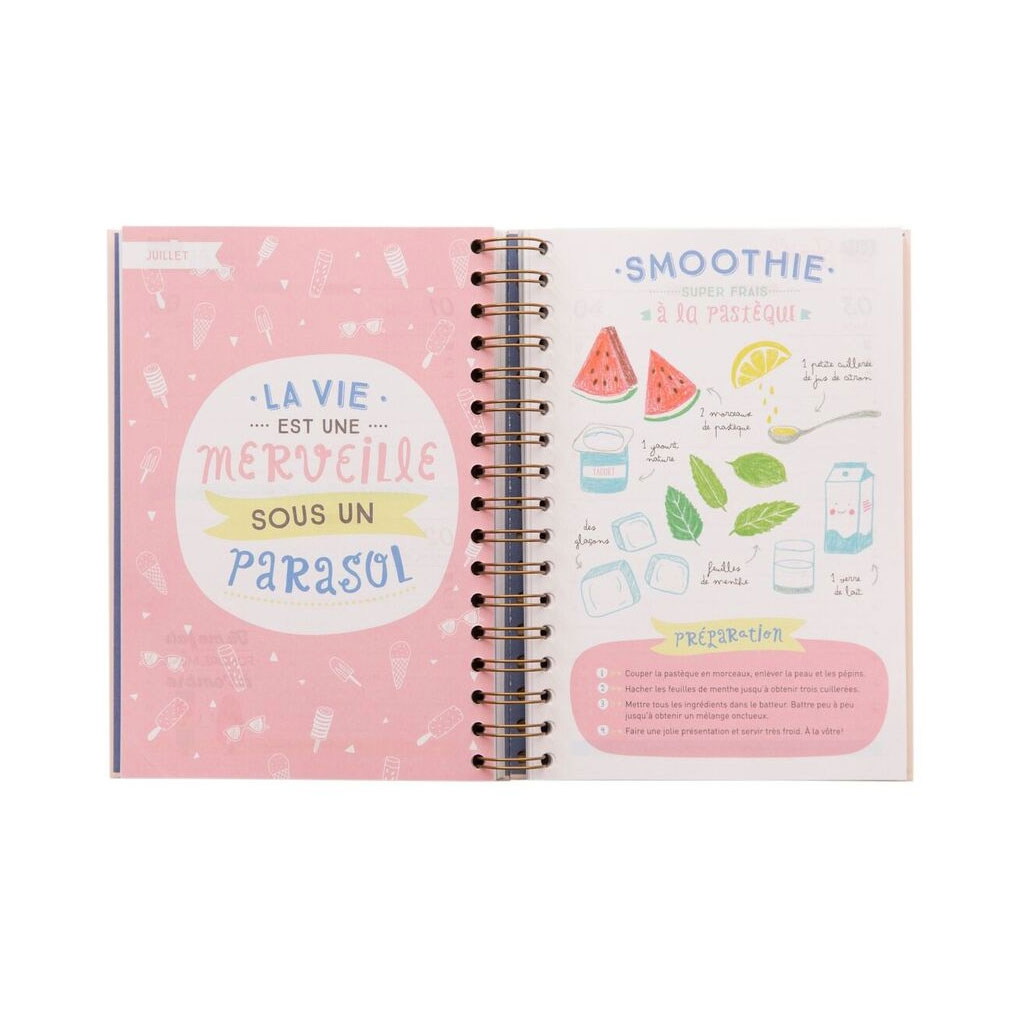 Agenda 2016 2017 mr wonderful 16x22 cm des choses faire - Mr wonderful agenda 2017 ...