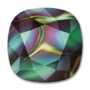Cabochon Swarovski 4470 10 mm Crystal Rainbow Dark x1