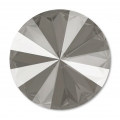 Cabochon Swarovski 1122 Rivoli 14 mm Crystal Dark Grey x1