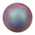Cabochon Nacré Swarovski 5817 6 mm Crystal Iridescent Red Pearl