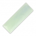Cabochon synthétique baguette 30x10 mm imitation marbre Mint x1
