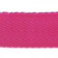 Sangle chevrons 25 mm Fuchsia x1m