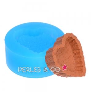 mini moule silicone pour p te polym re et p te de m tal 25 5x28 4 perles co. Black Bedroom Furniture Sets. Home Design Ideas