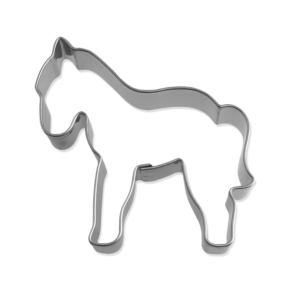 Moyen emporte pi ce en inox pour modelage 56 mm cheval perles co - Emporte piece pour evier inox ...