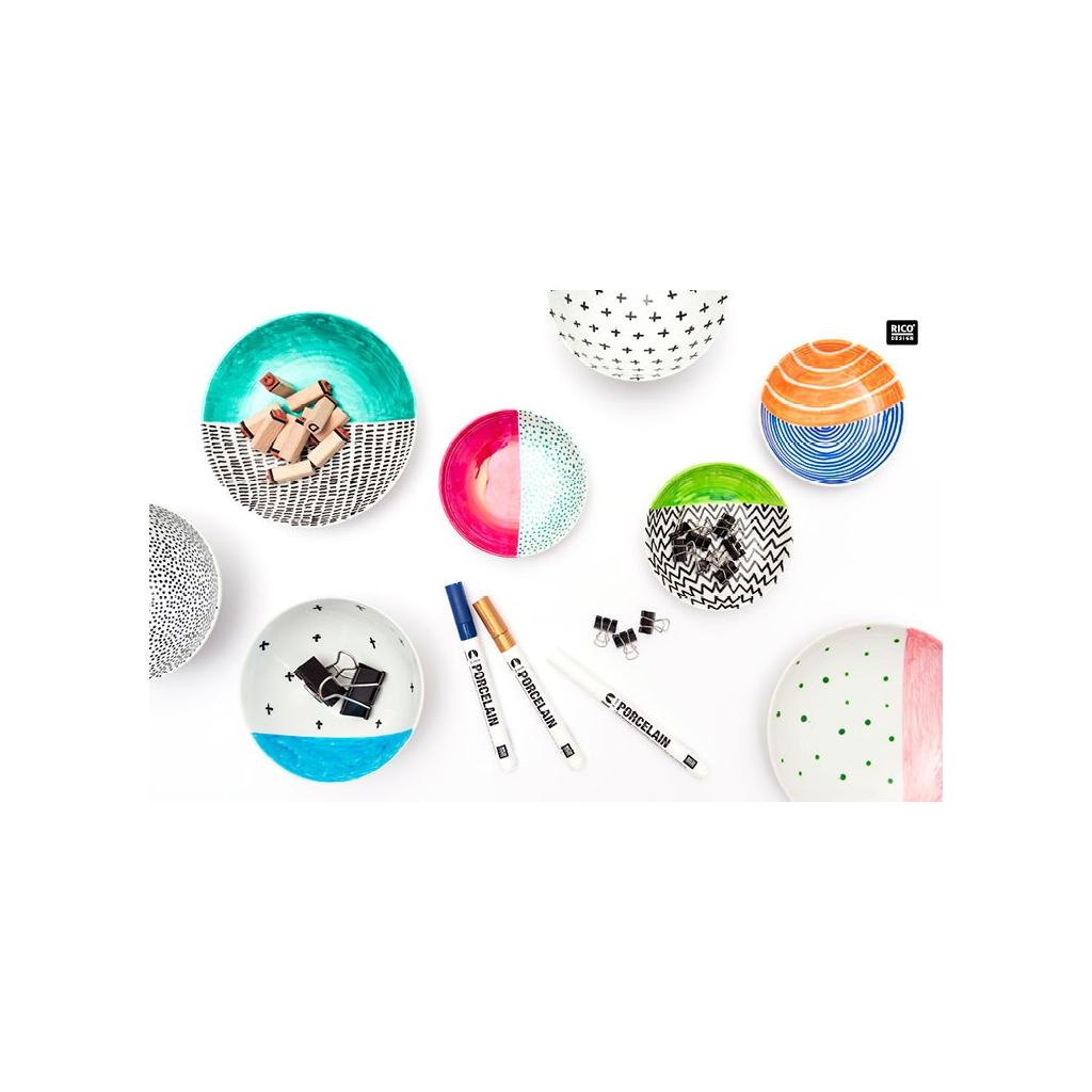feutre pour porcelaine et c ramique 2 mm noir rico design perles co. Black Bedroom Furniture Sets. Home Design Ideas