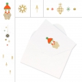 Set de cartes et enveloppes format A6 Paper Poetry Puristic Christmas x 6
