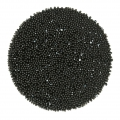 Crystal Fabric Swarovski 57335 à thermocoller 35 mm Jet Hematite