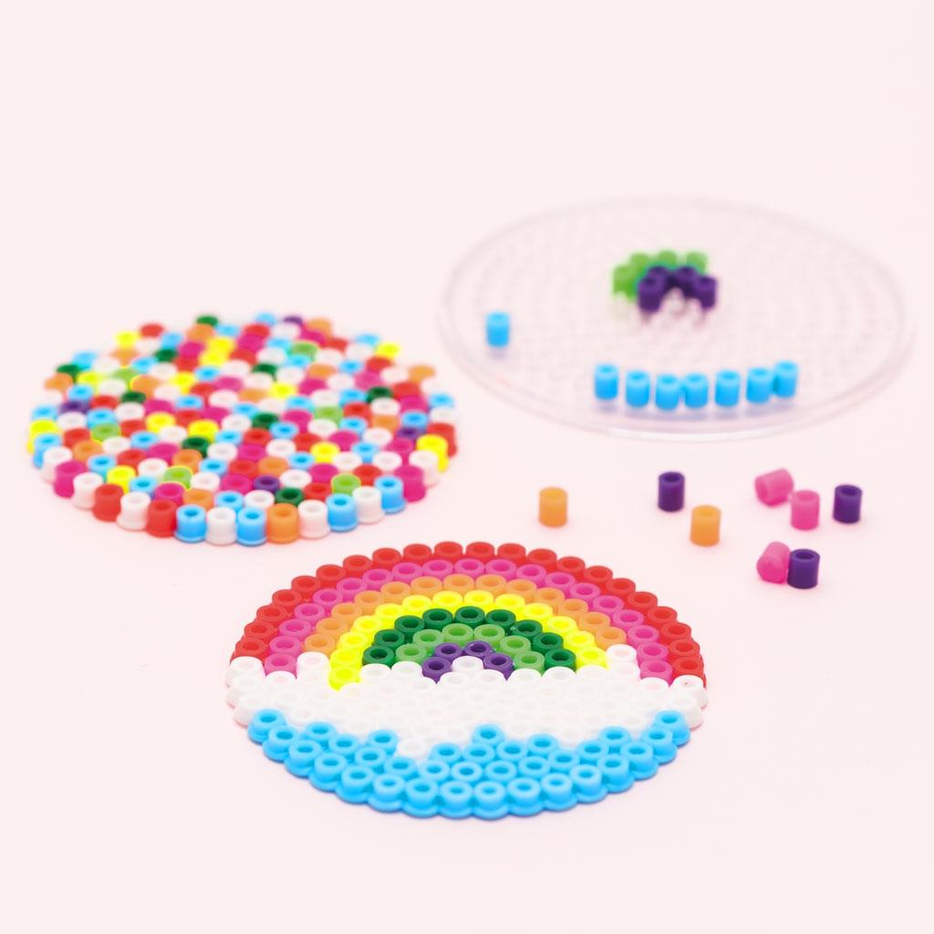 Kit de perles repasser pour enfants made by me 8 cm arc - Perle pour enfant ...