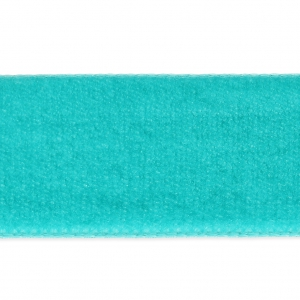 Ruban velours 22 mm Turquoise x1m