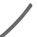 Cordon en plastique plein 1,5 mm Dark Grey x 50 cm