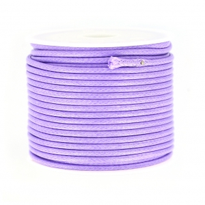 Cordon polyester imitation serpent type snake cord 2 mm Lilas x9 m