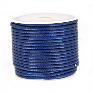 Cordon polyester imitation serpent type snake cord 2 mm Marine x9 m