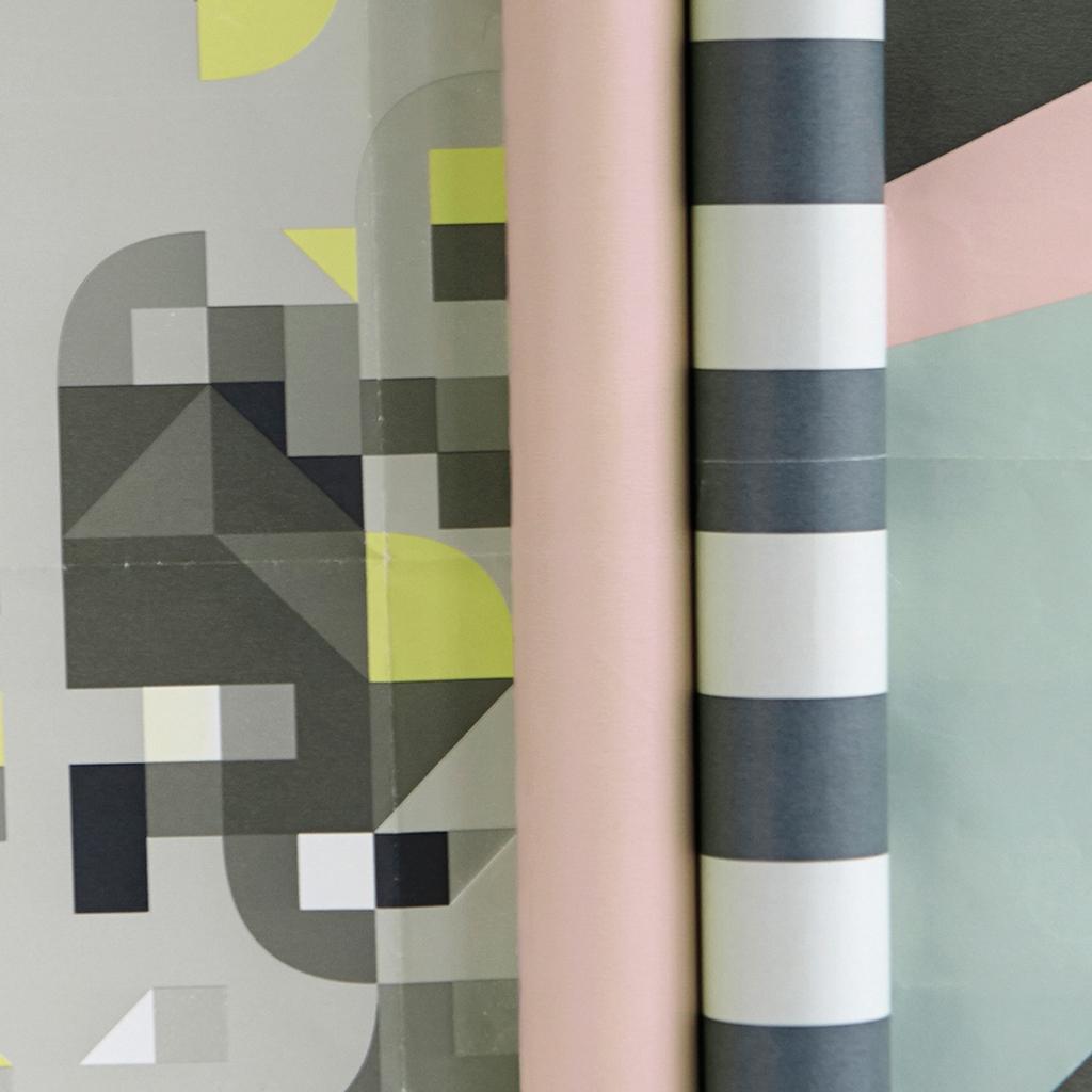 rouleau de papier cadeau house doctor double face colours mod le 2 perles co. Black Bedroom Furniture Sets. Home Design Ideas
