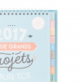 Calendrier de table 2017 Mr. Wonderful J ai de grands projets pour toi