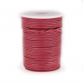 Cordon cuir 1,5 mm Dark Fuchsia x 25 m