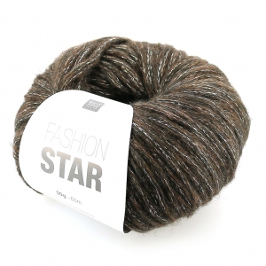 Laine Fashion Star Brun/argenté x50g