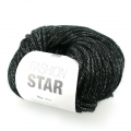 Laine Fashion Star Noir/argenté x50g