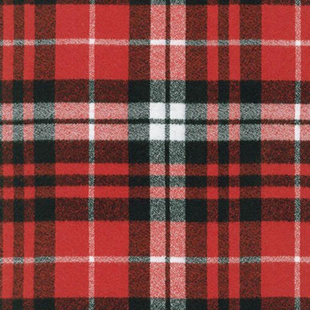 Plaid Christmas Fabric