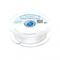 Queue de rat nylon satin européenne Griffin 1 mm White x25m