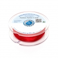 Queue de rat nylon satin européenne Griffin 1 mm Red x25m