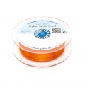 Queue de rat nylon satin européenne Griffin 1 mm Orange x25m