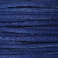 Queue de rat nylon satin européenne Griffin 1 mm Dark Blue x25m