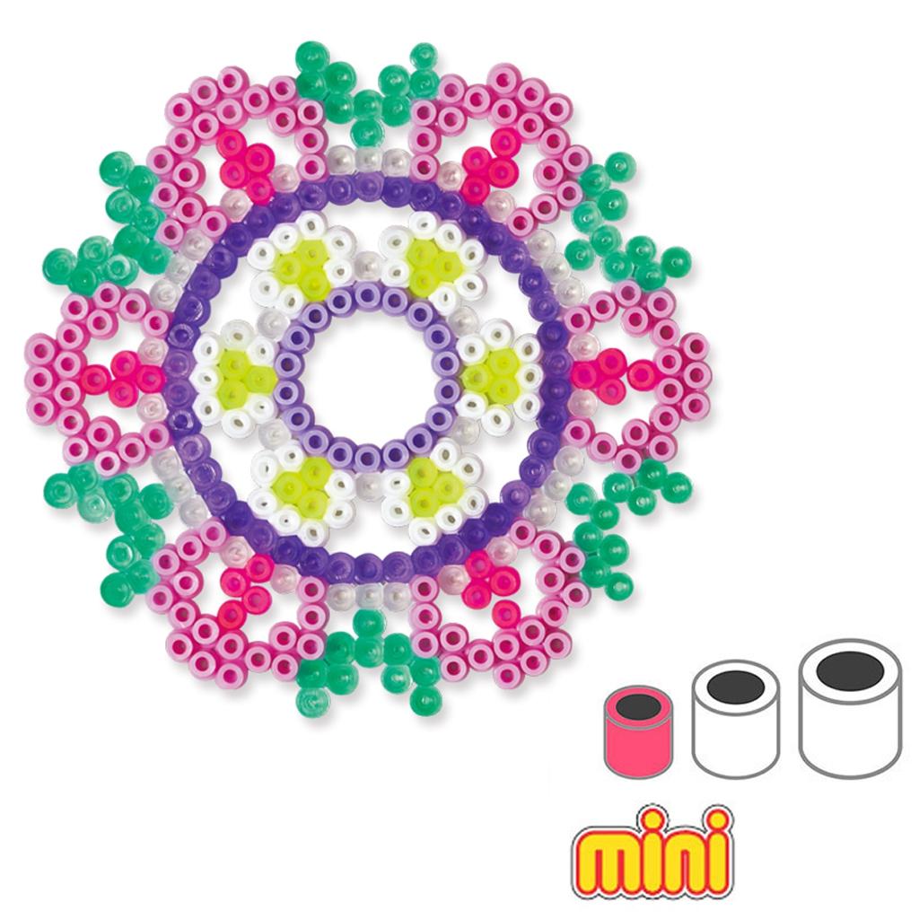 kit d co rosaces en perles repasser hama mini 2 5 mm pour enfant perles co. Black Bedroom Furniture Sets. Home Design Ideas