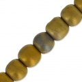 Perles Hematite  4 mm Golden Mat x20