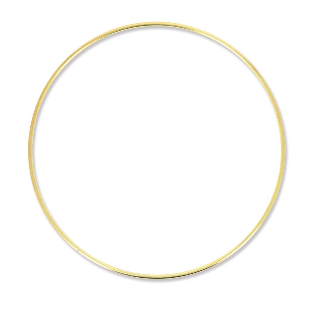 cercle nu en laiton pour attrape r ves suspension et abat jour 22 perles co. Black Bedroom Furniture Sets. Home Design Ideas