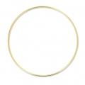 Cercle nu en laiton pour attrape rêves suspension et abat-jour 22.5 cm