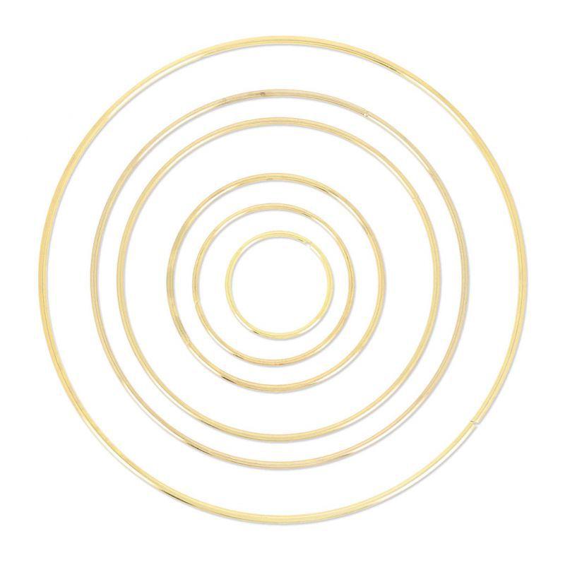 cercle nu en laiton pour attrape r ves suspension et abat. Black Bedroom Furniture Sets. Home Design Ideas