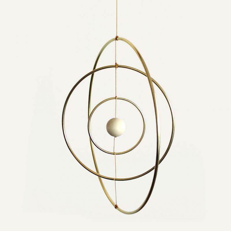 cercle nu en laiton pour attrape r ves suspension et abat jour 5 c perles co. Black Bedroom Furniture Sets. Home Design Ideas