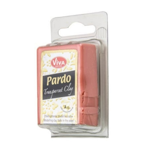 Pâte Pardo Viva Decor Translucent Clay 56g n°306 Orange