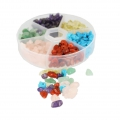 Assortiment de pierres chips 4-7 mm Multicolore
