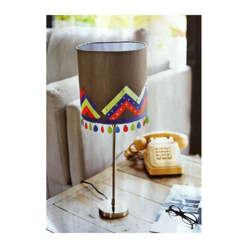 Pied de lampe en bois brut pour la création d\'abat-jour 31 cm Tige ...