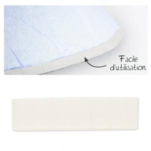 biais en tissu adh sif pour contour d 39 abat jour 16 mm. Black Bedroom Furniture Sets. Home Design Ideas