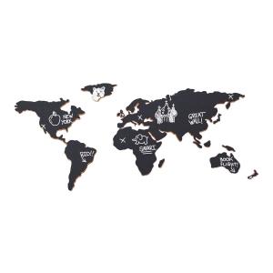 Carte du monde décoration Perles & Co