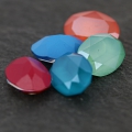 Cabochon Swarovski 4120 14x10 mm Crystal Mint Green x1