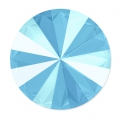 Cabochon Swarovski 1122 Rivoli 14 mm Crystal Summer Blue x1